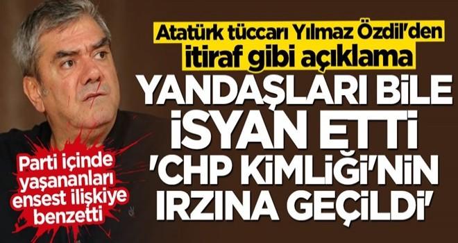 Atatürk tüccarı Yılmaz Özdil'den itiraf gibi açıklama: CHP kimliğinin ırzına geçildi