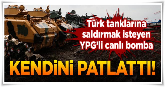 Kahpe PKK'dan DEAŞ taktiği! Kendini patlattı