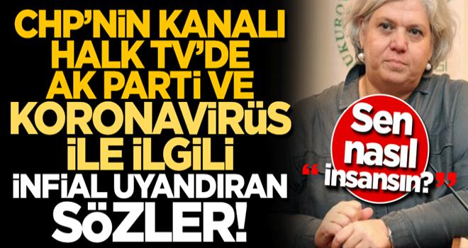 CHP'nin kanalı Halk TV'de koronavirüsle ilgili alçak sözler: Virüs yaşlıları vuruyor, AK Parti'nin seçmeni zaten yaşlı