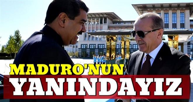 Türkiye'den Maduro'ya suikast girişimine kınama!