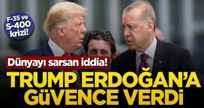 Dünyayı sarsan iddia! Trump Erdoğan'a güvence verdi