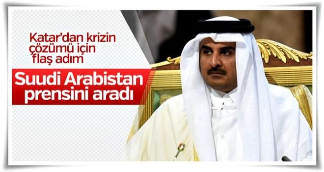 Katar'dan Suudi Arabistan'a diyalog talebi