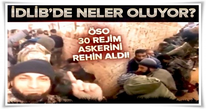 İdlib'de karanlık gelişmeler! .