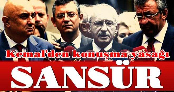 Kılıçdaroğlu HDP ile ittifakı gizlemek için avanelerine konuşma yasağı getirdi .