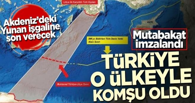 Mutabakat imzalandı! Türkiye o ülkeyle komşu oldu