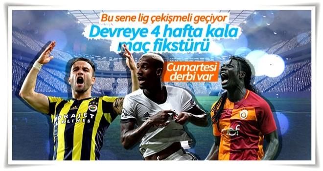 Süper Lig'de derbi öncesi zirvede son durum