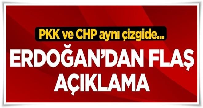 Tank saldırısıyla ilgili Erdoğan'dan flaş açıklama