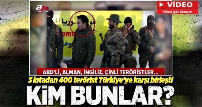 3 kıtadan 400 terörist YPG/PKK saflarında! Peki kim bu yabancı teröristler?.