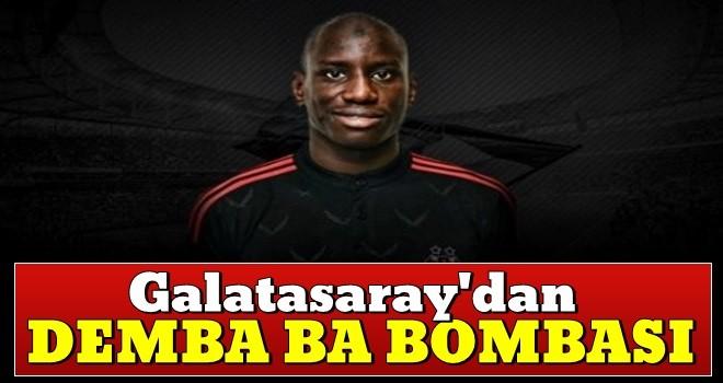 Galatasaray'dan Demba Ba bombası!