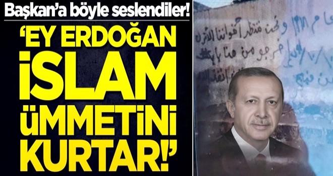 Münbiç halkından Erdoğan'a çağrı: İslam ümmetini kurtar