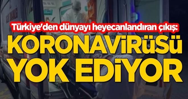 Türkiye'den dünyayı heyecanlandıran çıkış: Koronavirüsü yok ediyor
