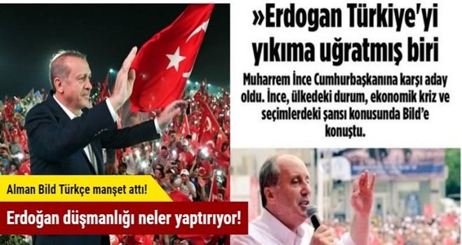 Erdoğan düşmanlığının geldiği son nokta