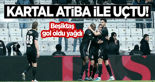 Kartal Atiba ile uçtu! Beşiktaş gol oldu yağdı