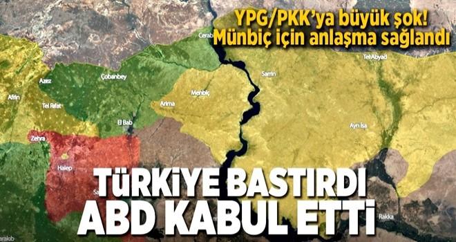 Türkiye bastırdı ABD kabul etti! YPG'ye büyük şok .