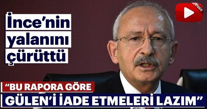 Kılıçdaroğlu, İnce'nin