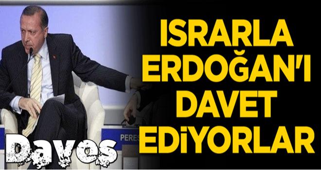 Israrla Erdoğan'ı davet ediyorlar...