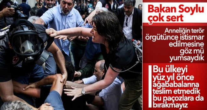 Bakan Soylu: Terör örgütleri anne istismarı yapıyor