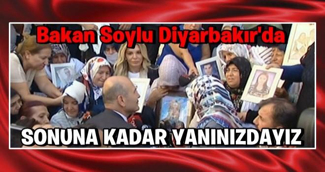 Süleyman Soylu HDP binasının önünde!