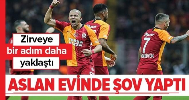 Galatasaray Kayserispor'u 4-1 yendi .