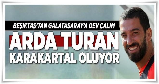 Arda Turan Beşiktaş yolunda .