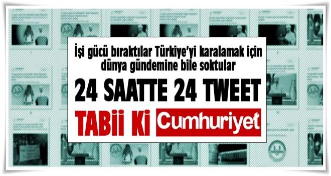 Cumhuriyet Gazetesi'nden çirkin algı operasyonu!