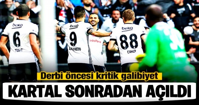 Beşiktaş, BENDE VARIM dedi.