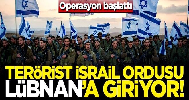 Terör devleti İsrail, Lübnan'a girmek için bahanesini buldu!