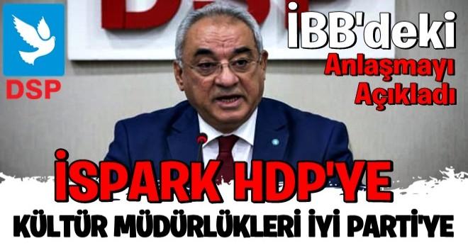 DSP lideri Önder Aksakal: CHP sözünü tutmayınca HDP ortalığı karıştırdı
