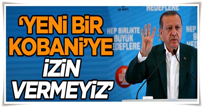 'Yeni bir Kobani'ye izin vermeyiz'