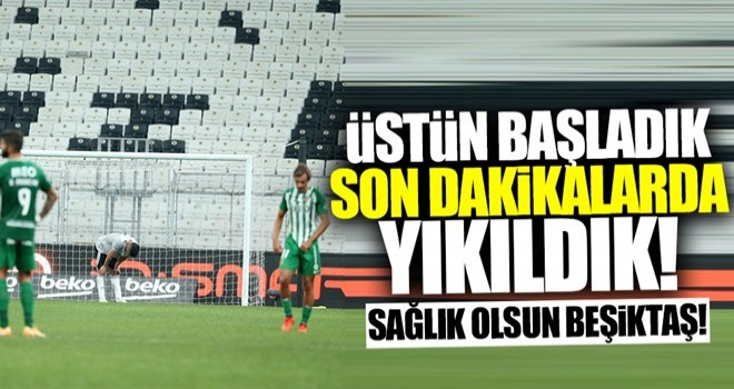 Beşiktaş'la Avrupa'ya veda ettik!