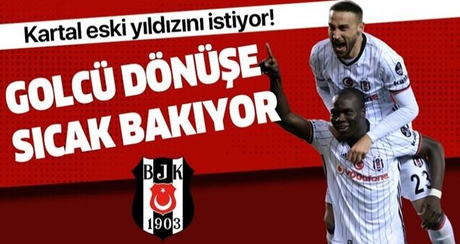 Beşiktaş'ta golcü transferi için ilk hedef Cenk Tosun .