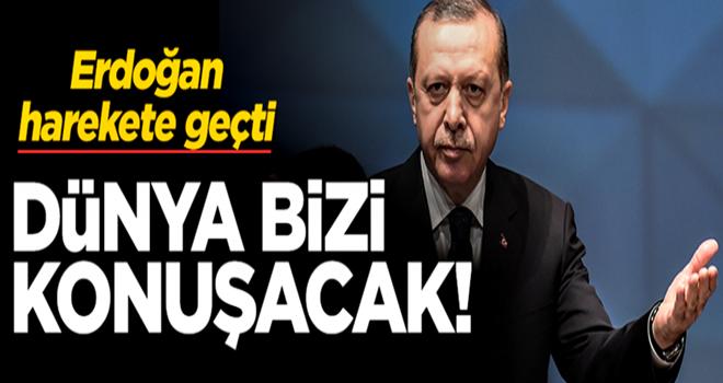 Ekonomideki oyuna karşı Erdoğan harekete geçti