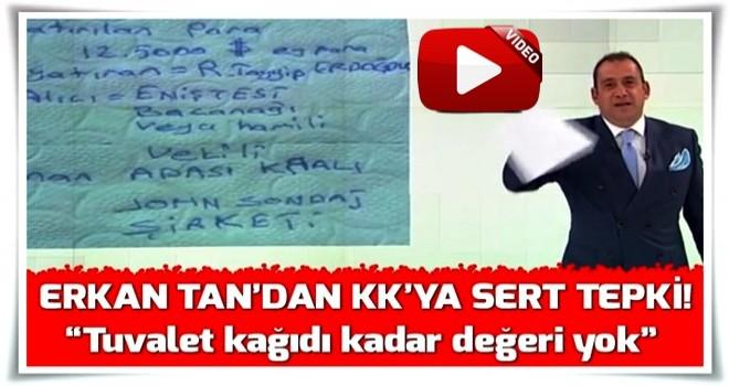 Erkan Tan'dan Kılıçdaroğlu'na canlı yayında sert tepki.