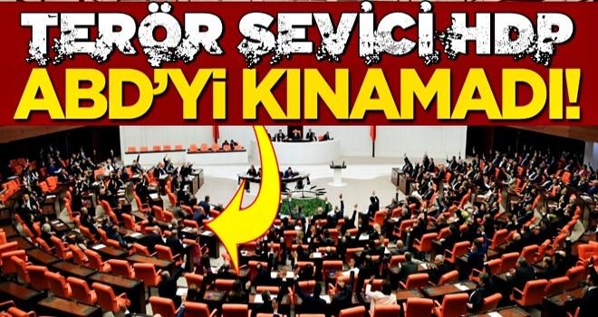 HDP'liler, ABD'yi kınama kararına
