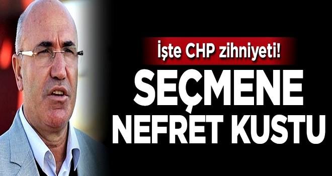 CHP'li Mahmut Tanal seçmeni aşağıladı