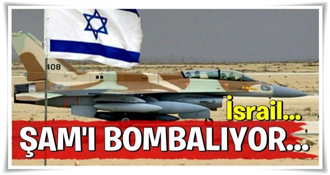 F-16 düşürülmesi sonrası İsrail Şam'ı bombalamaya başladı