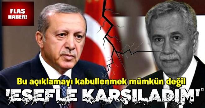 Başkan Erdoğan'dan Bülent Arınç'a sert tepki!