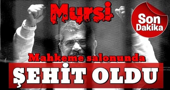 Mısır'ın eski Devlet Başkanı Muhammed Mursi  ŞEHİT oldu...