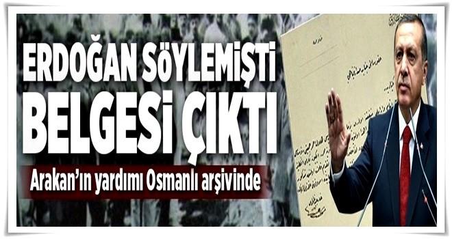 Erdoğan açıklamıştı, tarihi belgeye ulaşıldı  .