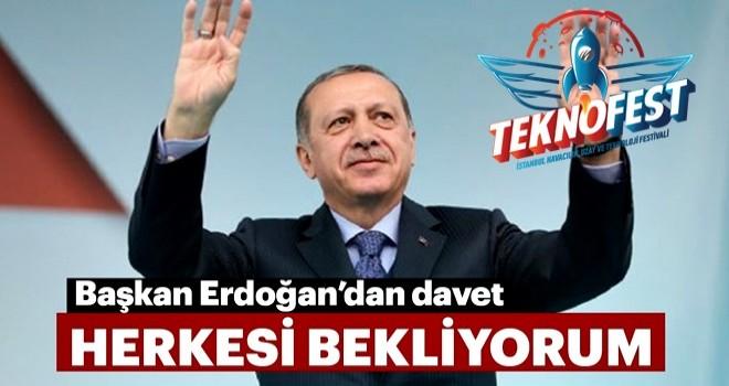 Başkan Erdoğan Bugün Teknofest 'e geliyor..