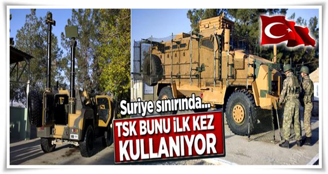 TSK, 'Roket Koruma Ağı' sistemini kullanmaya başladı .