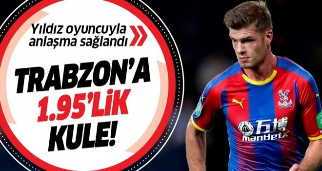 Trabzonspor'un yeni golcüsü Alexander Sörloth .