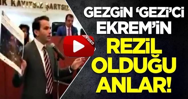AK Partili Mücahit Bilici, Gezi kalkışmasını destekleyen Ekrem İmamoğlu'nu rezil etti!