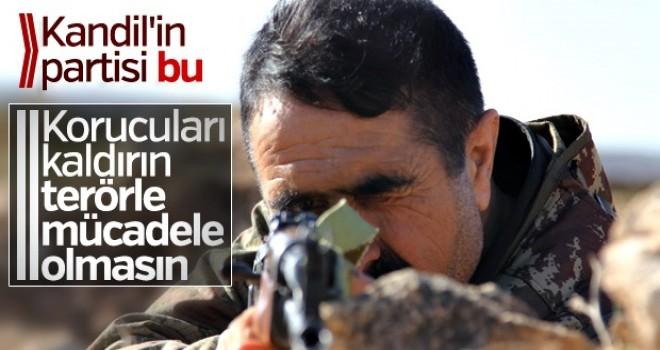 HDP, korucuların kaldırılmasını istedi
