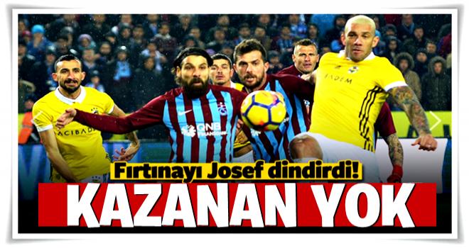 Trabzonspor'u Josef durdurdu!