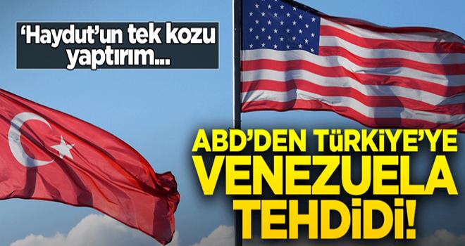 ABD'den küstah açıklama: Türkiye'nin Maduro'ya verdiği destek politikamıza ters!