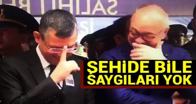 CHP'nin şehide bile saygısı yok!