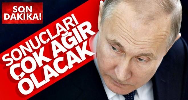 Rusya'dan ABD'ye tehdit