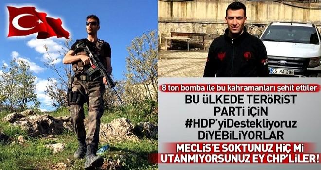 Hain saldırıda PKK 8 ton bomba kullanmış .