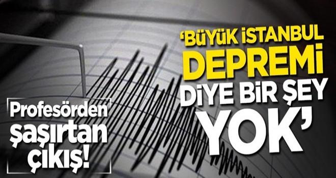 Profesör Ahmet Ercan'dan şaşırtan açıklama: Büyük İstanbul depremi diye bir şey yok